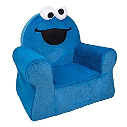 Marshmallow Furniture - Comfy Chair - Cookie Monster