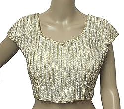 Navanya Couture Designer Heavy Pearl Work Padded Blouse