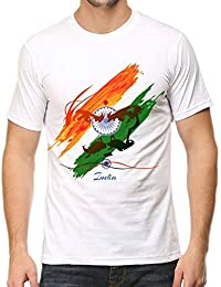 IndieMonk Men's Graphic Printed T-Shirt - Independence Day