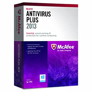 McAfee AntiVirus Plus 2013 - 1 PC, 12 month Subscription (PC)