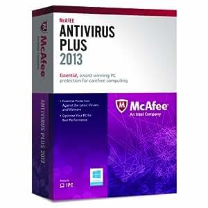 McAfee AntiVirus Plus 2013 - 1 PC, 12 month Subscription (PC)