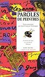 echange, troc Jean-François Domergue - Paroles de Peintres