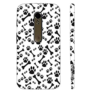 Motorola Moto X Style Dog N The Bone designer mobile hard shell case by Enthopia