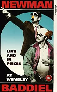 Newman And Baddiel: Live And In Pieces [VHS]