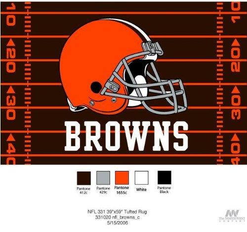 NFL Novelty Rug NFL Team: Cleveland Browns