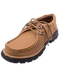 FBT Men's 10220 Tan Casual Shoes