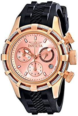 Invicta Women's 16106 Bolt Analog Display Swiss Quartz Black Watch