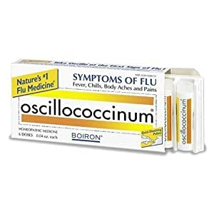 Boiron Oscillococcinum, 6 doses