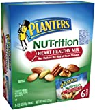 517JdxmJJdL. SL160  Planters Nutrition Heart Healthy Mix 6 pouches, 1.5 Ounce (Pack of 3)