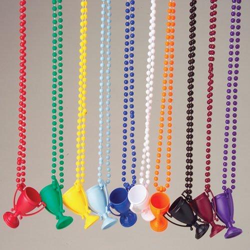 Purple Trophy Necklaces