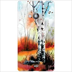 Design Worlds Back Cover Case For Nokia Lumia 535