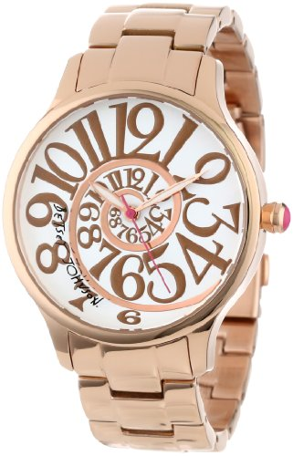 Betsey Johnson Women's BJ00040-14 Analog Optical Dial Watch