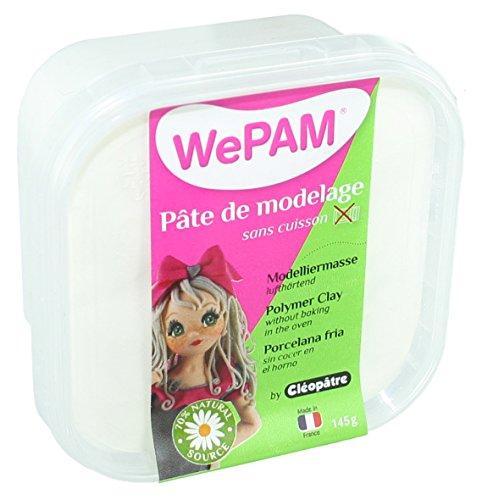 Cleopatre PFW - Porcelana, en bote hermético, 145 ml, color blanco
