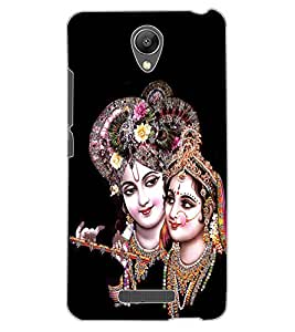 ColourCraft Lord Radha Krishan Design Back Case Cover for XIAOMI REDMI NOTE 2 PRIME