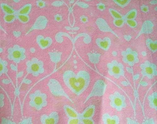 Children'S Collection Bittersweet Inn Pink And Lime Heart Sheet Set, Twin Size front-1004670