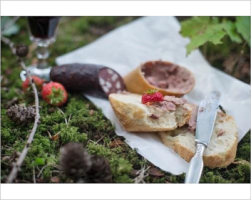 photographic-print-of-baguette-with-liver-sausage-and-red-sausage