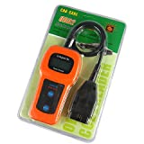 D-CLICK® U380 OBDII Check Engine Auto Scanner Trouble Code Reader (U380)