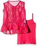 Gini & Jony Baby Girls' Blouse Top (122030110860 1265_Lavender_9-12 months)