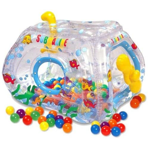 Amazon.com: Submarine Ball Pit Playhouse By Ball Toyz Indoor/outdoor