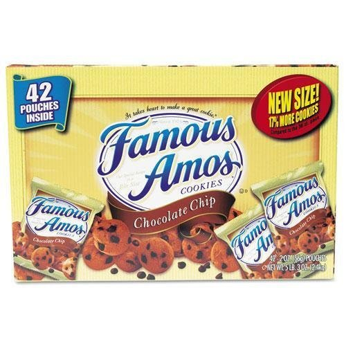 kellogg-827554-famous-amos-cookies-chocolate-chip-2-oz-snack-pack-42-packs-carton-by-kelloggs