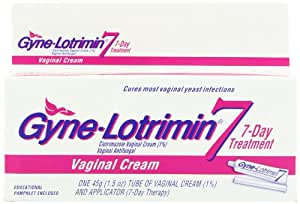 Gyne-Lotrimin 7 Vaginal Cream and Applicator, 7-Day Treatment, 1.5-Ounce Tube and Applicator