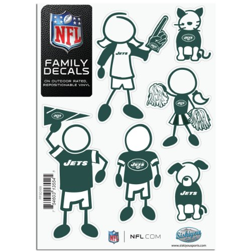 NFL New York Jets Small Family Decal Set at Amazon.com