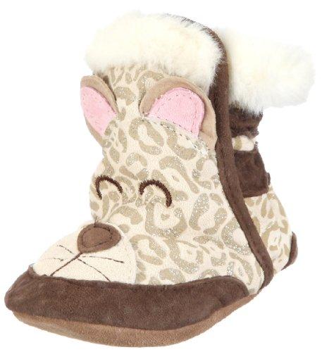 cute snow boots Robeez Soft Soles 3D Snow Leopard Boot (InfantToddler)Cream6-12 Months (2.5-4 M US Infant) Best price