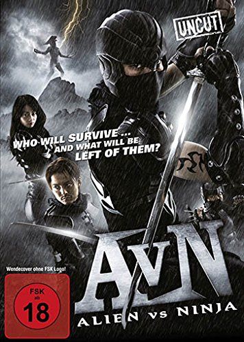 Alien vs. Ninja, DVD