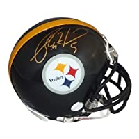 Ryan Clark Signed Autograph Pittsburgh Steelers Mini Helmet Authentic Certified Coa