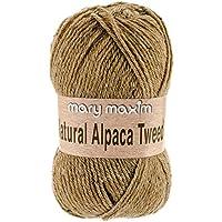Mary Maxim Y083-302 Natural Alpaca Tweed Yarn