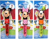 Design International Group Disney Finger Puppet Pen Set, Assorted colors, (LDS16063)
