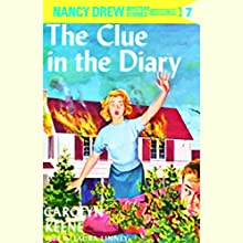 The Clue in the Diary: Nancy Drew Mystery Stories 7 Audiobook by Carolyn Keene Narrated by Laura Linney