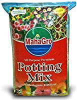 MahaGro All Purpose Premium Potting Mix- With Cocopeat & Organic Fertilizer- 10kg