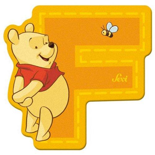 Sevi 82764 Klebebuchstabe F Winnie the Pooh