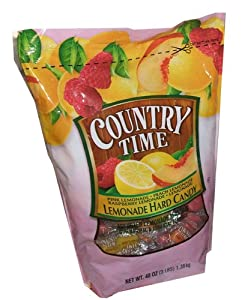 Country Time Lemonade Hard Candy Assorted Flavors 3 Pound Bag