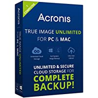 Acronis True Image 2015 Unlimited Backup Software for 1 Device