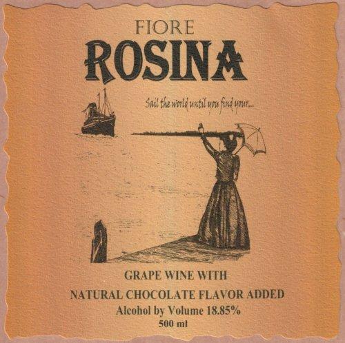 """Nv Fiore Winery """"Rosina"""" Dessert Wine 500 Ml"""