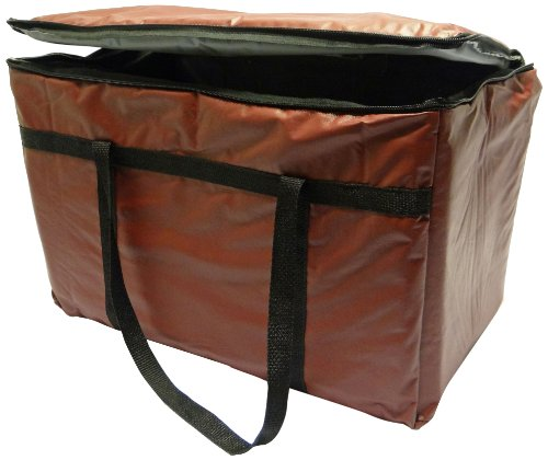Phoenix 13-Inch By 22-Inch By 10-Inch Insulated Delivery Bags, Burgundy front-340094