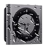 Waterproof iPod Shuffle with FREE Waterproof Headphones - GRAY from Apple Corp