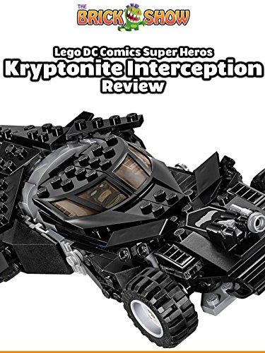 LEGO Batman v Superman Kryptonite Interception Review (76045)