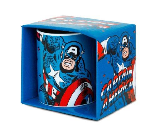 Captain America Tazza da caffè - Marvel Comics Tazza di porcellana - Stampa a colori - design originale concesso su licenza - LOGOSHIRT