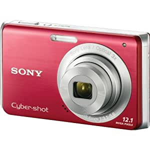 Amazon.com : Sony Cybershot DSC-W190 12.1MP Digital Camera with 3x