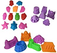 Sand Molding Toy Activity Set. 24 Pie…