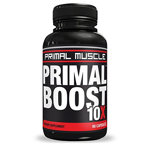 Primal-BOOST-10x-Proven-Testosterone-Booster-Users-Report-BUILDS-MUSCLE-FAST-Burns-Fat-Hardcore-Strength-Insane-Energy-WILD-Performance-1-Month-Supply
