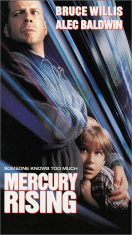 Mercury Rising [VHS]