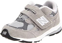 New Balance KV990 Hook and Loop Running Shoe (Infant/Toddler),Grey,5.5 M US Toddler