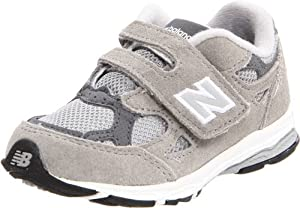 New Balance KV990 Hook and Loop Running Shoe (Infant/Toddler),Grey,10 M US Toddler
