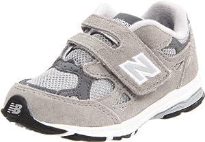 New Balance KV990 Hook and Loop Running Shoe (Infant/Toddler),Grey,7.5 M US Toddler