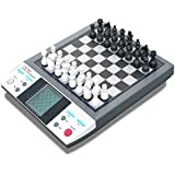 Talking Chess Professor, 8 in 1 Chess Checkers Othello Reversi Grashopper 4 in a Row Nim Fox and Geese and Northcotes Games, This Unique Training Package Consists of a Newly Developed Chess Computer Suitable for Beginners Advanced As Well As Experienced Chess Enthusiasts Play and Learn Chess with Chess World Chapion Anatoly Karpov. light weight
