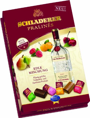 Schladerer Assorted Brandy Filled Chocolates in Large Gift Box, 9 Ounce